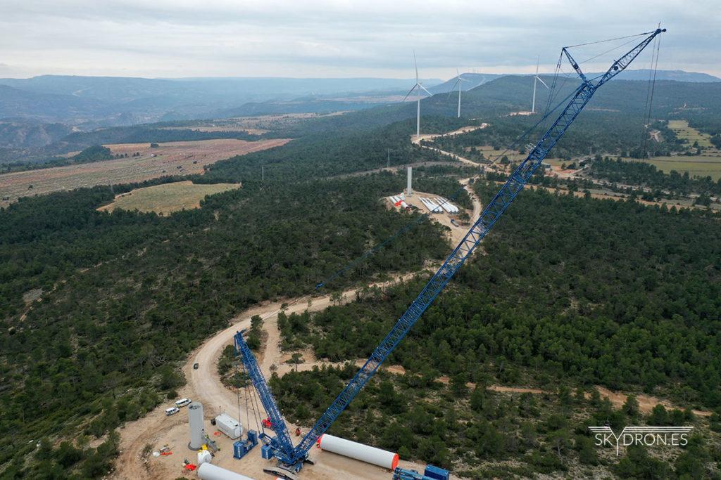 Inspección de parques eólicos, cómo lo hacemos