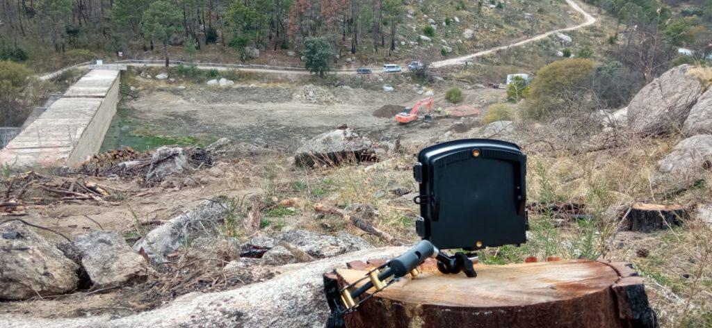 Time lapse profesional - cámara de SKYDRON en su localización