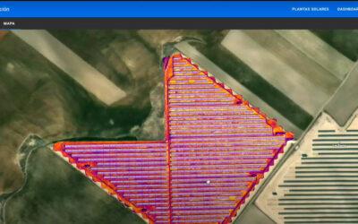 Plataforma web y móvil para inspecciones de plantas solares